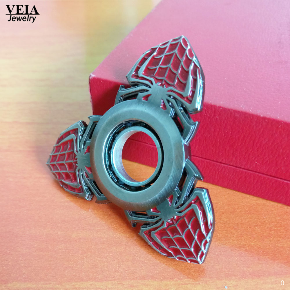 2017 Marvel Weapons Spinner Keychain Spiderman Cosplay Darts Zinc Rotated Alloy Action Figure Model Toys Kids Gifts Collection