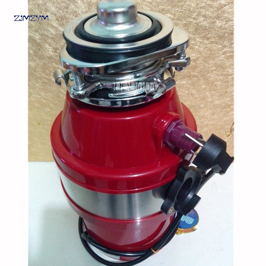 8802 Food Waste Disposer High density Alloy Air switch Easy to operate 1400ml ultra-large capacity sensitivity protection system