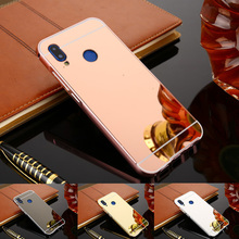 Phone Case For Huawei Nova 3i Luxury Protective Rose Gold Mirror Aluminum Back Cover 3 I Capa