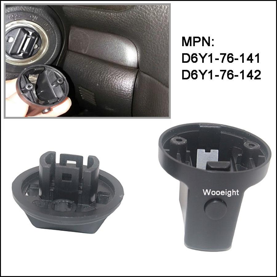 Wooeight para mazda 6 2006 CX-7 CX-9 2007-2012 tecla de ignição push turn knob interruptor de ignição botão base D6Y1-76-141 D6Y1-76-142