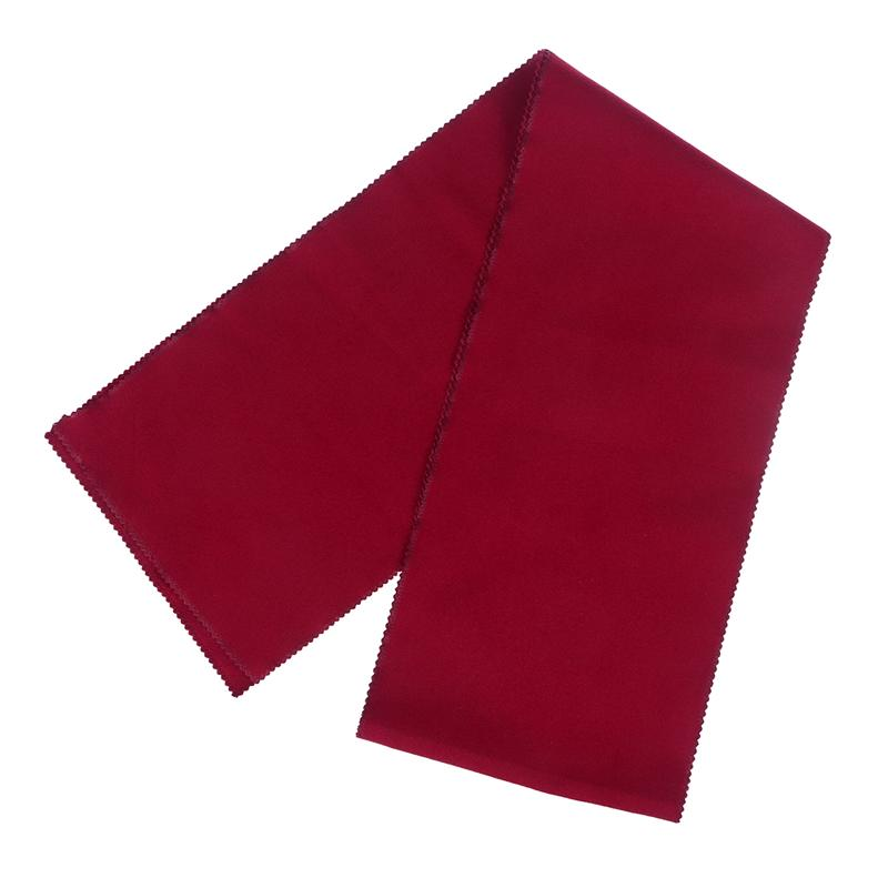 128*15CM Piano Keyboard Dust Cover Key Cover Cloth Piano Covers (Red)