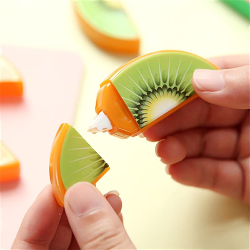 6 pcs/Lot Cute Fruit deco correction tape Mini correcting ta