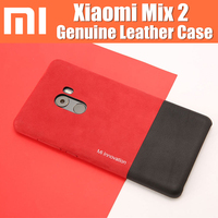 Xiaomi Mix 2 Case Original Genuine Leather Back Cover Shell Based On 5 99 Inch Funda