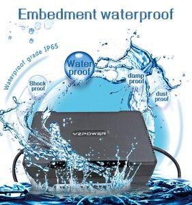 Image 4 - YZPOWER جديد وصول للماء 42V 8A 7A 6A بطارية ليثيوم شاحن محول ل 36V ليثيوم أيون يبو بطارية حزمة الكهربائية أداة