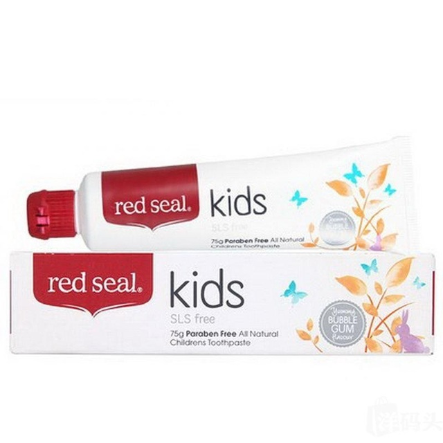 NewZealand Kids Natural SLS Free Toothpaste 2PCS, safer for children to swallow Protect mouth gums ulcers, Fights plaque decay