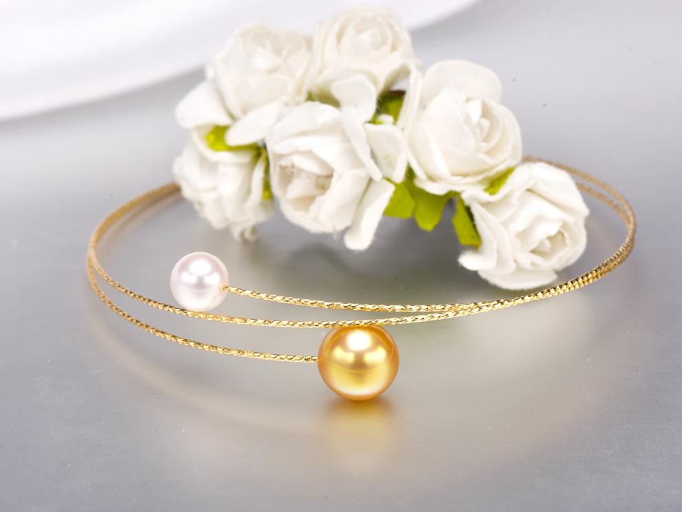 double pearl bracelet (4)