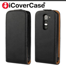 Luxury Genuine Leather Flip Case For LG G2 mini D620 D620R D620K D618 Magnet Phone Cover High Quality Capa Fundas(China)