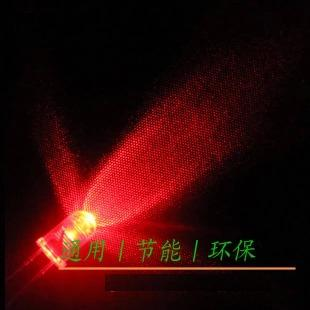 High quality genuine f5mm round red LED lamp super bright li ght