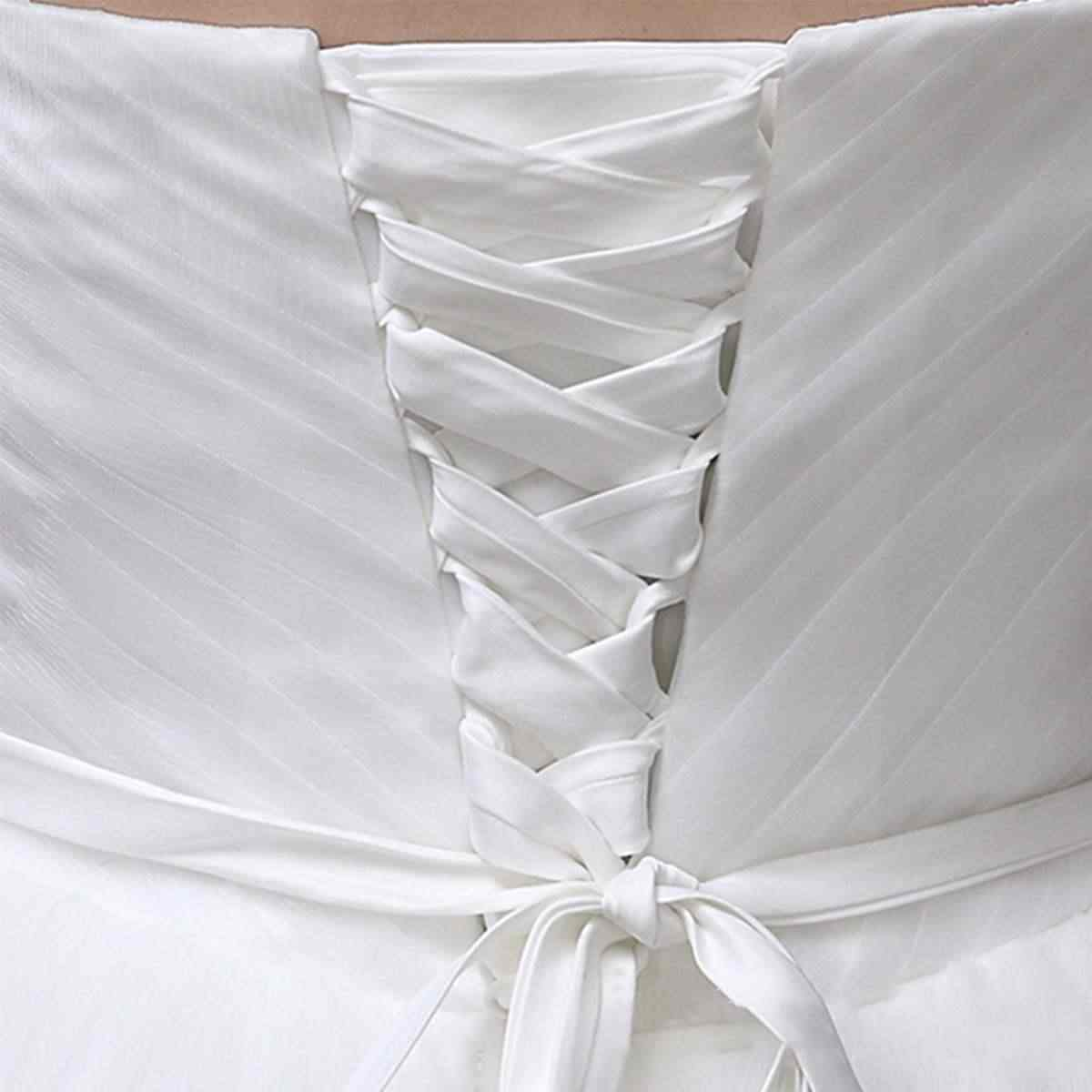 2019 3 meter dress cord back silks and satin lace up beautiful satin corset  kit zipper replacement wedding gown colors rope