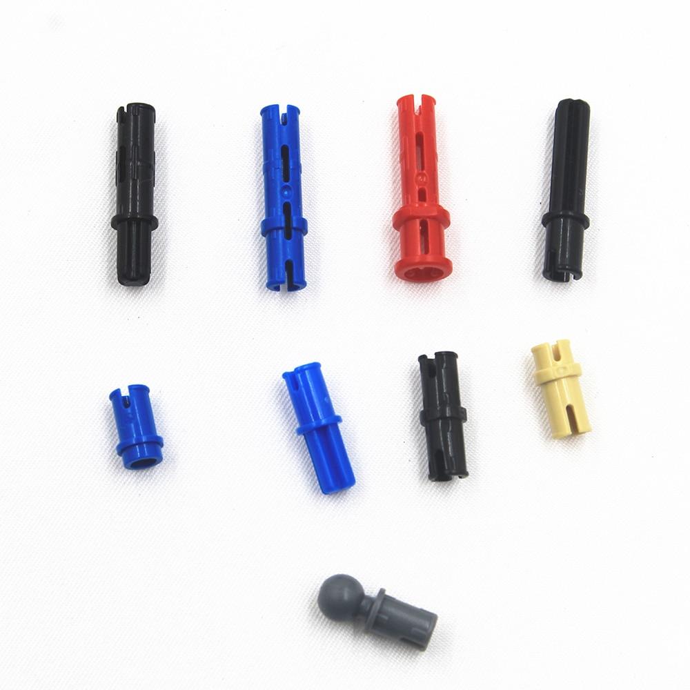 MOC Technic Series Parts 100PCS CONNECTOR PEG Car Model Building Blocks Set Compatible With Lego For Kids Boys Toy Bricks