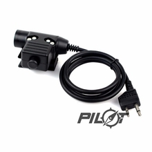 PILOT ELEMENT Z-tactical U94 PTT Z113 for Midland Version Tactical Airsoft Hunting Military Radio Walkie Talkie Headset kenwood