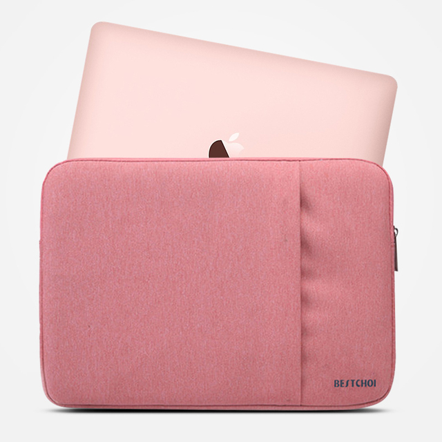 Laptop Sleeve for Macbook Pro Air 13 12 Case Cover Women Men Solid Waterproof 13.3 15.6 inch Laptop Bag for Mac book Pro 15 Case