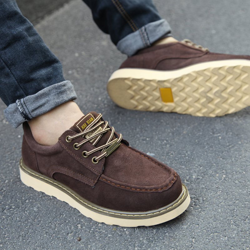 New England men s leather shoes tooling bulk shoes men s casual shoes permeability men genuine