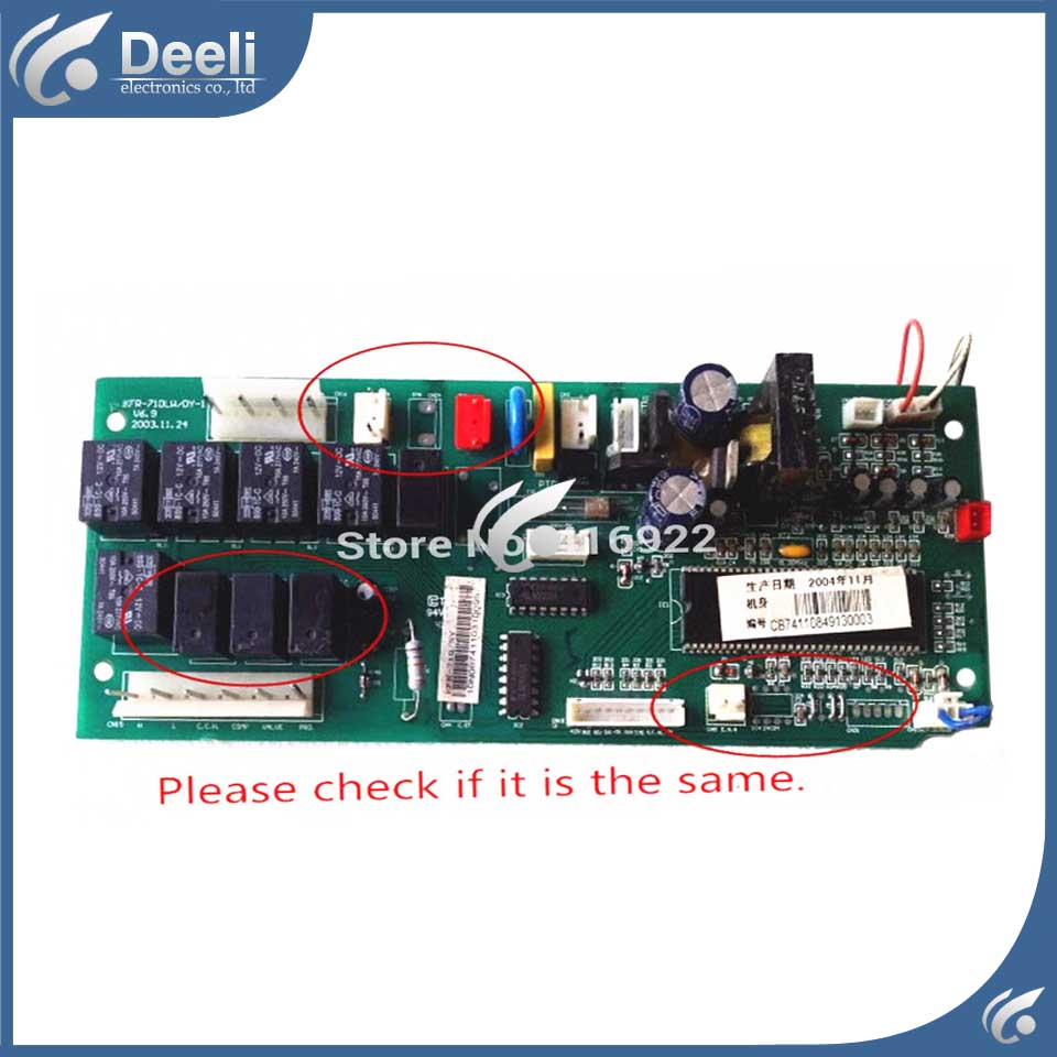 95% new good working for air conditioning KFR-120Q/SDY A KFR-71DLW/DY-1 pc board control board indoor air conditioning parts mpu kfr 35gw dy t1 computer board kfr 35gw dy t used disassemble