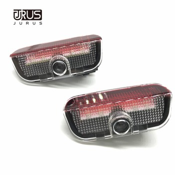 JURUS 2PCS For SEAT Alhambra Led Car Door Logo Welcome Laser Lamp Projector Ghost Shadow Lights