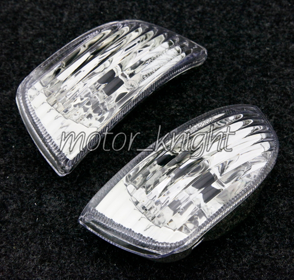 Front Turn Signals Lenses For Triumph Sprint ST 2005-2007 Clear Indicator Lamp Blinker Lens Cover