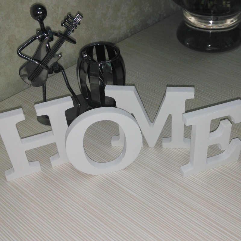 חדש 3D קיר מדבקות עיצוב הבית אותיות עץ מודרני קלאסי קיר מדבקת מכירה לוהטת אמיתי אופנה בית