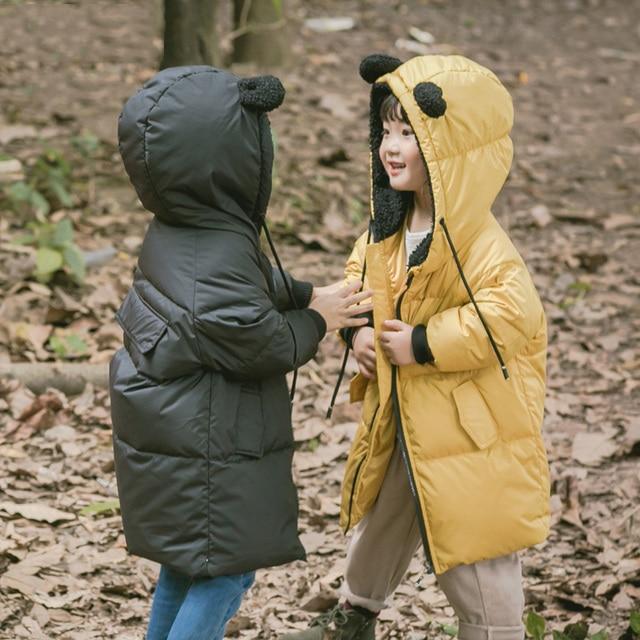 2dba514ee Children Jackets Boys Girls Winter down coat Baby Winter Coat Kids ...