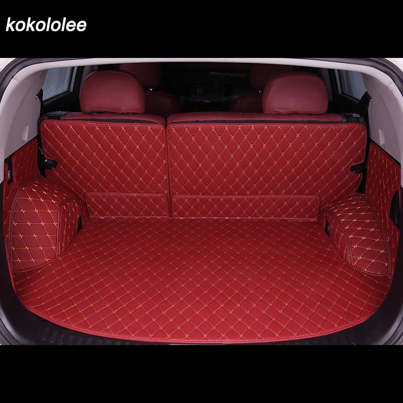 Custom car trunk mats for Skoda all models Kodiaq Spaceback Yeti Rapid Fabia Superb Octavia car