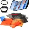 12 en 1 Kit filtro de la lente 49,52, 55,58, 62,67, 72,77, 82, mm filtro de gradiente anillo adaptador bolso Case para SX30 SX40 SX50