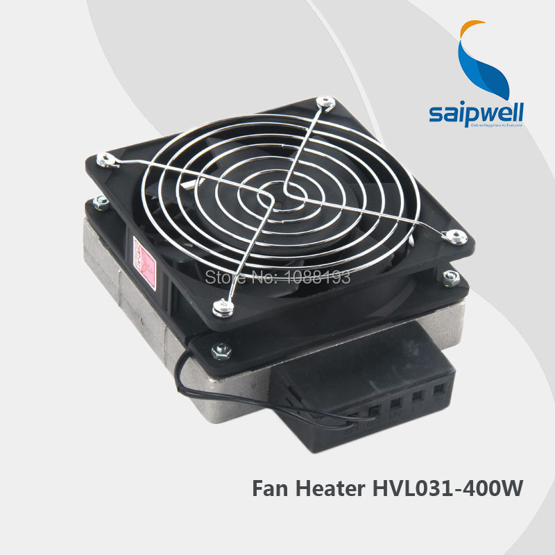(HVL031-400W) Die-cast Aluminium Fan Heater with Axial Fan free shipping 1piece lot top quality 100% aluminium material waterproof ip67 standard die cast aluminium box222 145 55mm