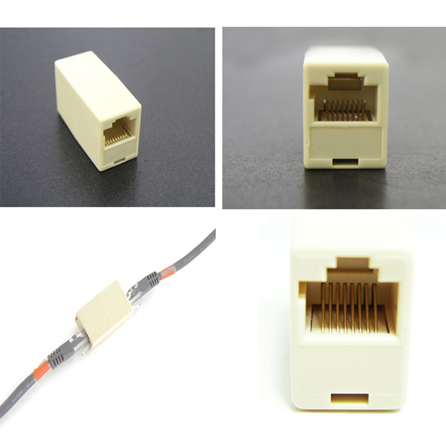 Connector-Cable RJ45 Network 2pcs/Lot Cat6 The-Joint Cat5e High-Quality title=