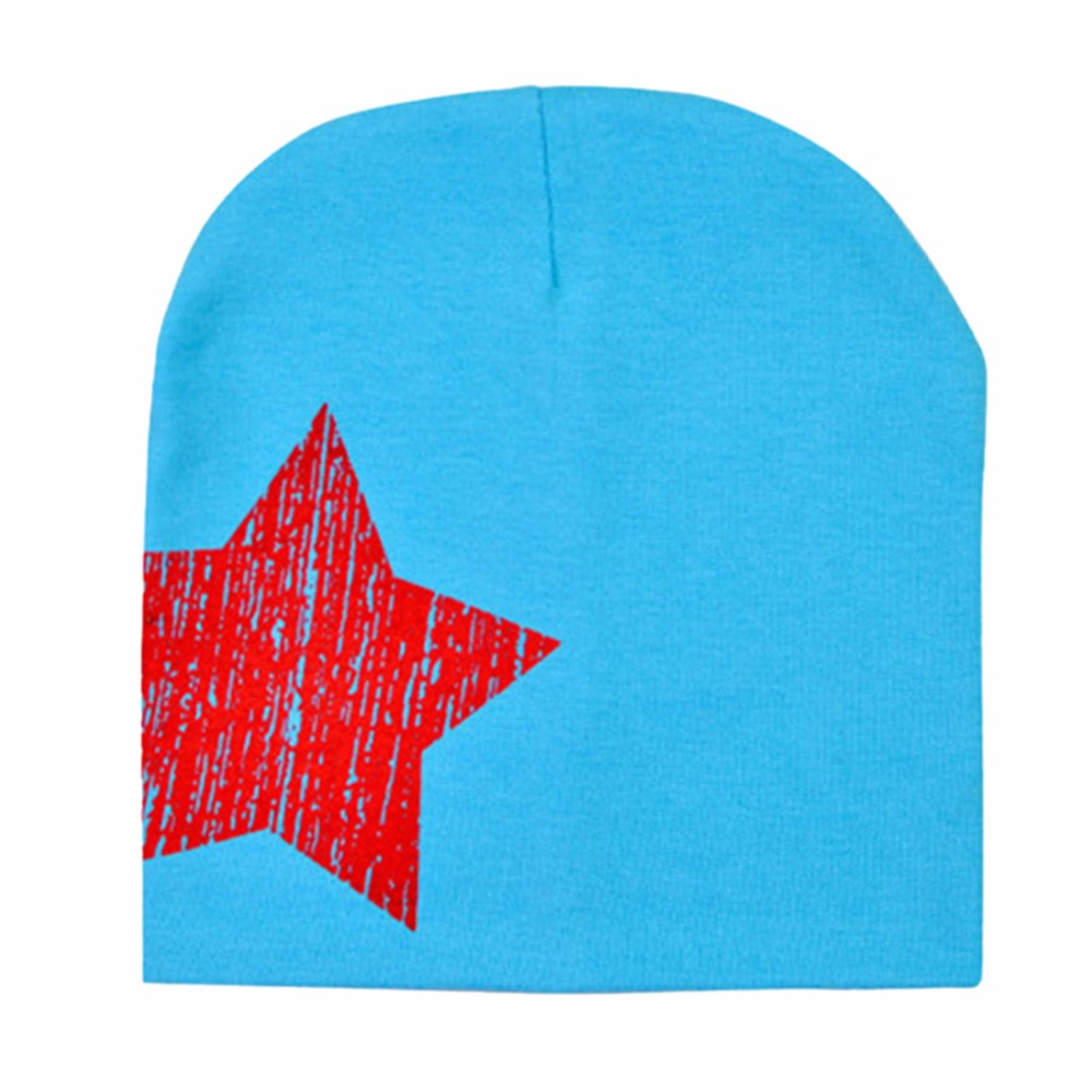 b9ce35876 ④Baby Kid Toddler Cute Stars Printed Hat Soft Warm Cotton Girl Boy ...