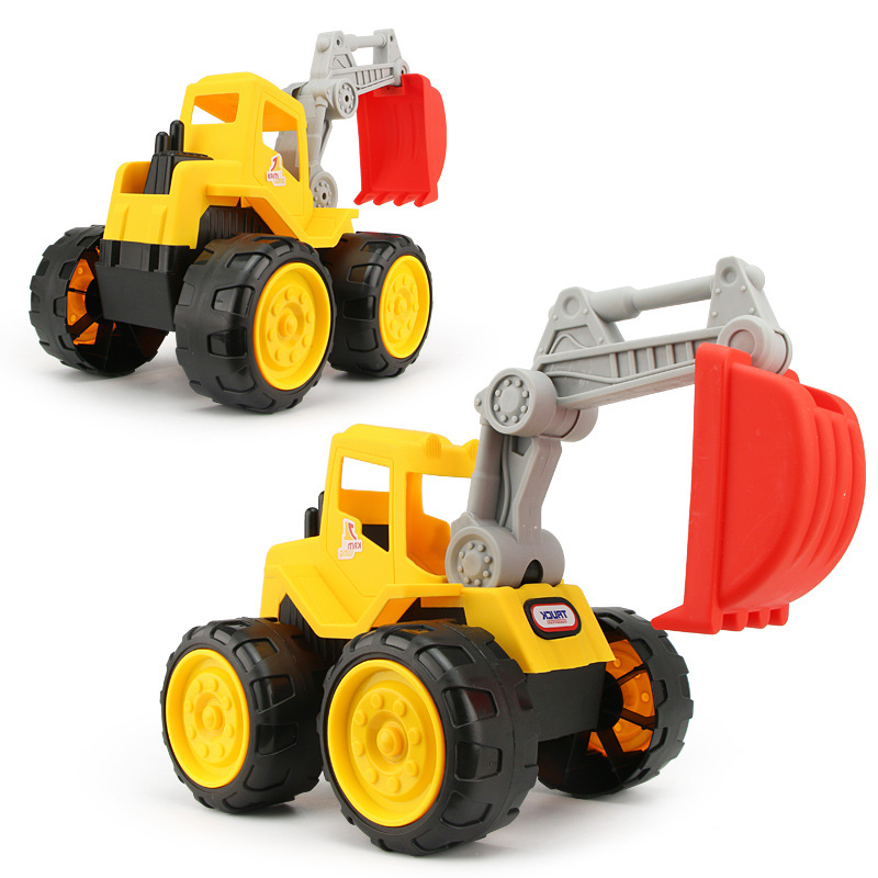 Big size Beach toy cars Engineering car vehicles truck excavator bulldozer model toys Classic Play house Toys kids Boy toys 3