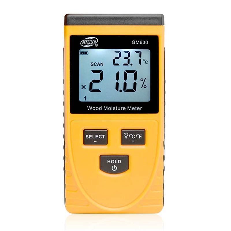 Zwei Pins Digitale Holzfeuchte-messgerät Heißer Luftfeuchtigkeit Tester 0,5 Prozent Genauigkeit Hygrometer Holz Damp Detector Werkzeuge Feuchtigkeit Meter