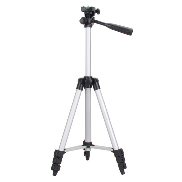 Weifeng WT3110A Tripod Aluminum With 3-Way 350mm-1020mm Universal Camera Tripod for DSLR Camera for Iphone 6s with Free Clip