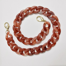 IKE MARTI 1 Pc 60/120cm Resin Acrylic Chain for Bags AccessoriesHanDiy Women Plastic Purse Chain Straps for Handbags marti pellow swansea