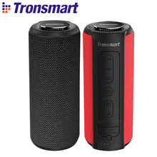 NEW Tronsmart T6 Plus Bluetooth Speaker 40W Portable Deep Bass Soundbar IPX6 Waterproof Power Bank Function SoundPulse