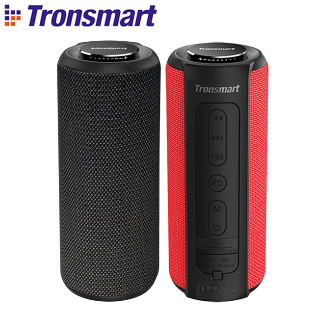$ US $50.99 NEW Tronsmart T6 Plus Bluetooth Speaker 40W Portable Speaker Deep Bass Soundbar IPX6 Waterproof Power Bank Function SoundPulse