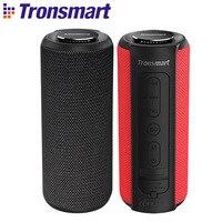 Nuevo Altavoz Bluetooth Tronsmart T6 Plus  altavoz portátil de 40 W  barra de sonido de graves profundos IPX6  función de Banco de energía resistente al agua SoundPulse|Altavoces portátiles| |  -