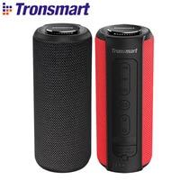 Tronsmart T6 Plus altoparlante Bluetooth 40W altoparlante portatile bassi profondi Soundbar IPX6 funzione Power Bank impermeabile SoundPulse