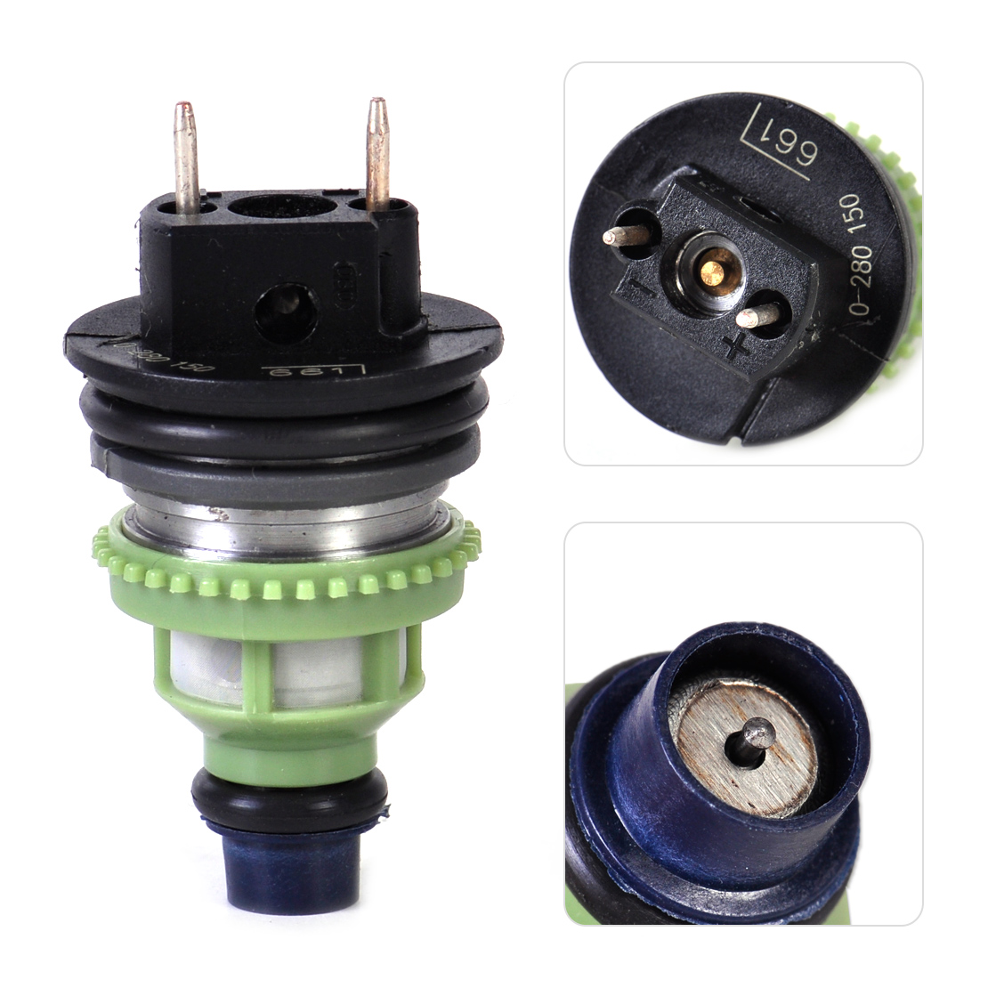 beler  Fuel Injector Fit for Suzuki Swift 1995 1996 1997 for Chevrolet Geo Metro 0280150661 96063614 1955002160 15710-60B50beler  Fuel Injector Fit for Suzuki Swift 1995 1996 1997 for Chevrolet Geo Metro 0280150661 96063614 1955002160 15710-60B50