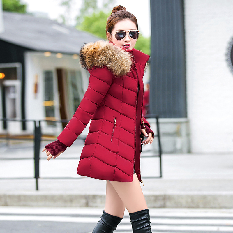 Hot!New warm Autumn Winter jacket women 2019 Fashion Women coat thick hoody winter coat slim women parka warm womens Down jacket