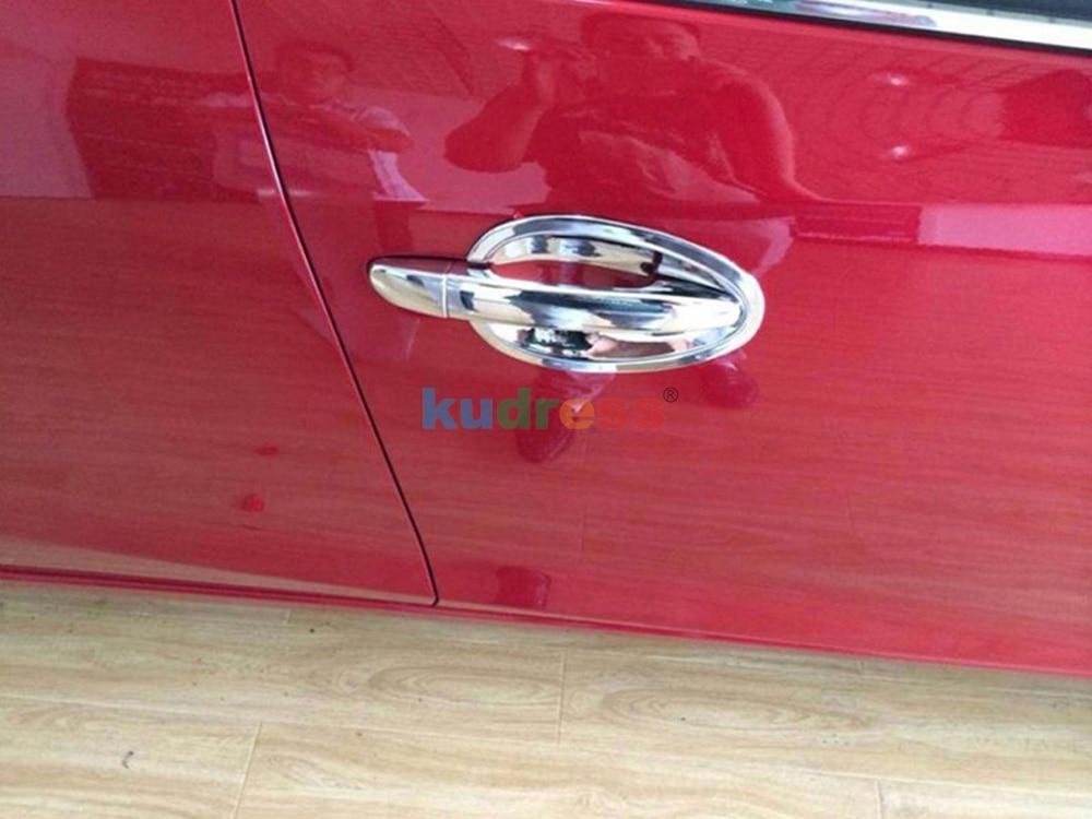 Для Mazda 3 Axela 2013 автомобильный Стайлинг ABS Хромированная дверная ручка Крышка отделка