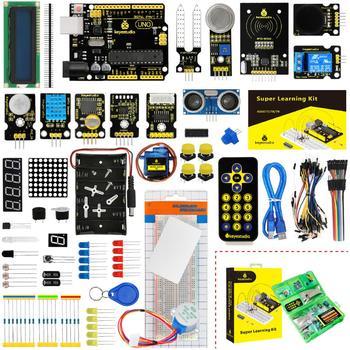 Keyestudio Супер Starter kit/обучения Kit (UNO R3) для Arduino UNO R3 проектов W/Подарочная коробка + 32 проектов + Руководство пользователя + PDF (онлайн)