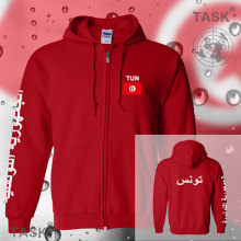 Tunisia Tunisian Arabic mens hoodies and sweatshirt casual polo sweat suit streetwear tracksuit nation fleece zipper flag TUN TN