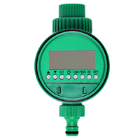 Digital Automatic Water Timer LCD Display Intelligence Garden Irrigation Controller Smart Solenoid Valve Home Set