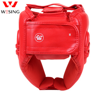 Image 2 - Wesing aiba aprovado boxe cabeça guarda artes marciais muay thai combate protetor de cabeça profissional atleta capacete competição