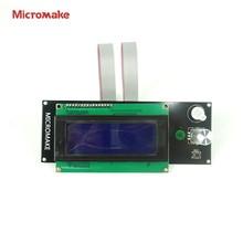 Micromake 3D Принтер ЖК-Экран 2004 Умный Контроллер