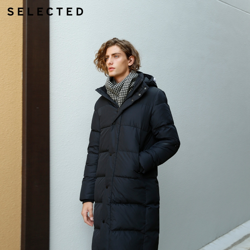 Image 2 - SELECTED New Winter Down Jacket Men's Water proof Outwear Warm Clothes Down Coat Suit S  418412529-in Down Jackets from Men's Clothing