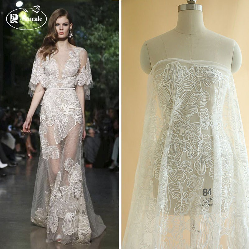 Sequins gauze mesh fabric yarn decoration handmade doll skirt cloth sewing DIY wedding dress dancer clothing RS1978