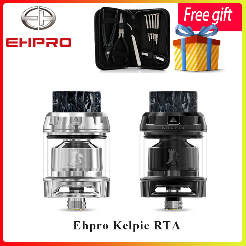 Newest Vape tank Ehpro Kelpie RTA 2ml 3 5ml Capacity with dual post build deck Honeycomb