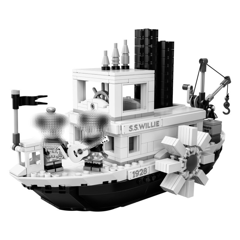 2019 New Steamboat Willie Movie Compatible With MOC 21317 Building Blocks Bricks Toys For Children Gifts Kids Xmas Gifts