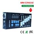 DHL free доставка Показать освещение освещение сцены МИНИ небольшой пульт управления сигнала DMX512 контроллер 54 консоли
