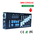 DHL free shipping  Show lighting stage lighting MINI small console controller DMX512 signal controller 54 console
