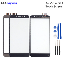 Original Touch Screen For Cubot X18 Touch Panel Glass Replacement For Cubot X18 Touch Panel Free Tools touch panel original for gt gunze usp 4 484 038 g 28 for touch membrane screen touch pad